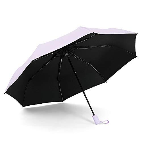 Regenschirme Faltbarer Regenschirm Leichtgewichtig Langlebig Acht Knochen Wasserabweisend Tragbar Bequemer Faltschirm Sowohl sonniger als auch sonniger UV-Schnitt Origami-Regenschirm Regenschirm