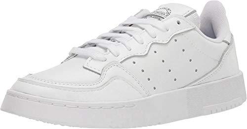 adidas Originals Zapatillas Supercourt para hombre, blanco (blanco/blanco/negro), 43 EU