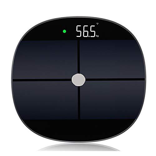 ELXSZJ XTZJ Báscula de baño, Escala de Cuerpo de baño Digital Altamente precisa, Medidas precisamente Peso de hasta 400 Libras