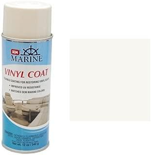SEM Marine Ranger OFF-White Vinyl Coat Vinyl and Plastic Repair Coating for Marine Vinyl