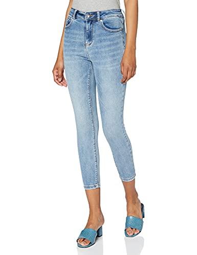ONLY Damen ONLMILA HW SK ANK BJ13502-1 NOOS Jeans, Blau (Light Blue Denim Light Blue Denim), 25W /L34
