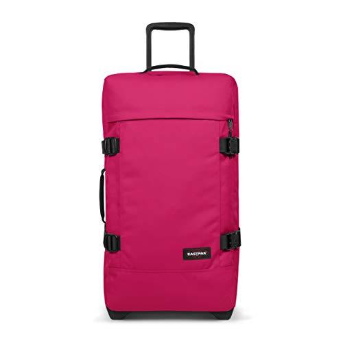 Eastpak Tranverz M Valigia, 67 cm, 78 L, Rosa (Ruby Pink)