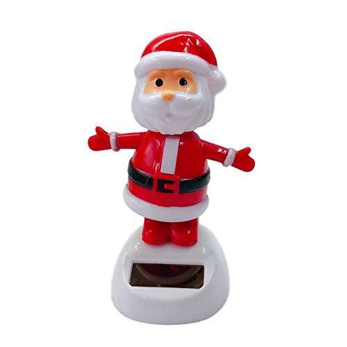 Juguetes de baile solares, juguetes de baile duraderos para la decoracion del tablero de instrumentos del coche, decoraciones de coches de Navidad