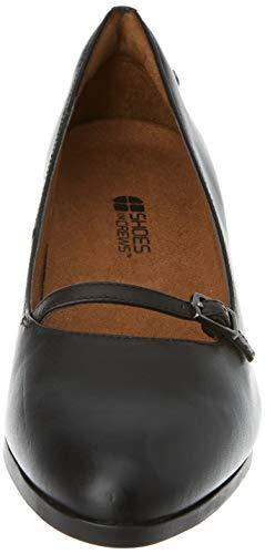 Shoes for Crews 57487-42/8 REESE Women's Slip On Elegant Shoes, Size 42, Black