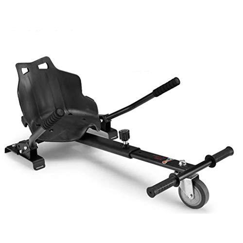 CASATX Hoverboard Go Kart per Scooter Elettrici Autobilanciati, Hoverkart Regolabile Sedile Hover Board Hoverkart per Hoverboard Kit di Conversione A Doppia Sospensione