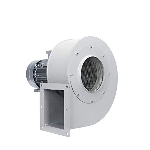 Laubbläser Industrielle Ventilation Extractor Metall Axial Exhaust Gewerbe, Air Mover-Teppichboden-Trockner, Gebläse-Ventilator (1500W) Weiß