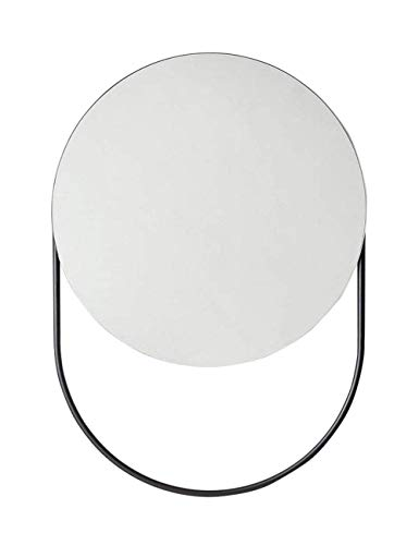 YO-TOKU up spiegel compacte spiegel Modern Muur Décor Circle Frame Wall Opknoping Spiegel met handdoek Bar- Contemporary Premium Ronde Glass Panel - Vanity, slaapkamer of badkamer Cosmetic Supplies Gi