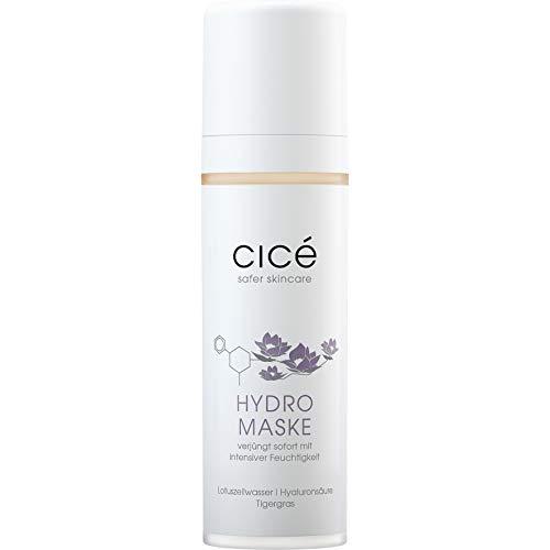 cicé Anti-Aging Hydromaske – mit Soforteffekt über Nacht gegen Falten, große Poren, Rötungen, trockene und schlaffe Haut