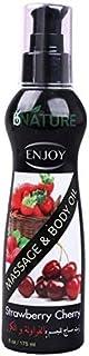 Enjoy Massage Oil With Strawberry & Cherry 175 ml