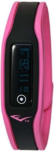 Everlast Chinese-Automatic Fitness Watch with Silicone Strap, Pink, 17 (Model: EVWTR003PK)