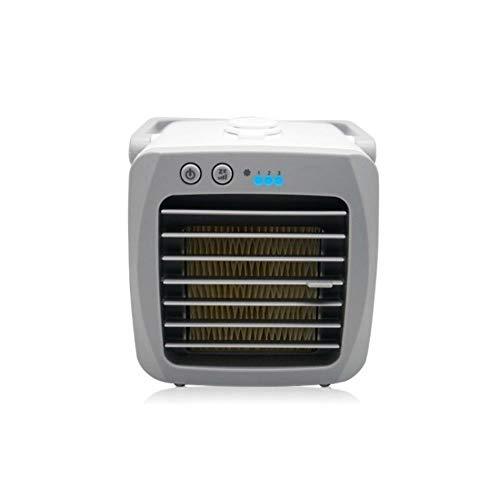 LALY A SHOP Ventilador con AIRE acondicionado USB Mini - Hogar Dormitorio Ventilador frío Ambiente de oficina Ventiladores humidificadores