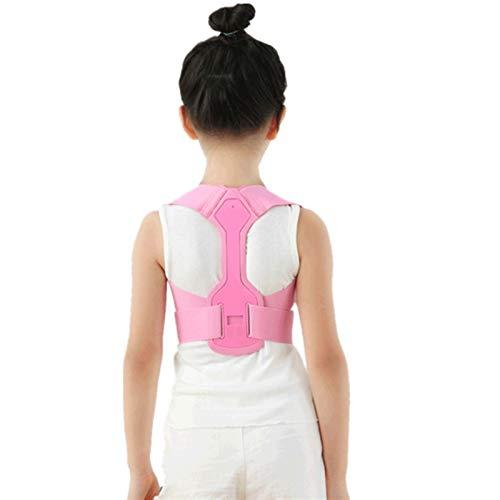 ZZDH Corrector Postura Espalda Corrector de postura de la postura ajustable Soporte de la espalda de la espalda de los niños espaldas de espuma de la espuma de la espuma de la salud del corrector de l