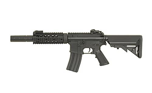 Fusil Airsoft eléctrico AEG CM.513 M4 Negro Cyma Rifle táctico AR15 6...