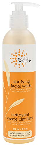 EARTH SCIENCE - Gentle Clarifying Facial Wash For Oily, Combination Skin Types (8 fl. oz.)