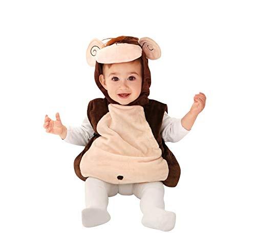 Déguisement Petit Singe Marron bébés de 7 à 12 mois