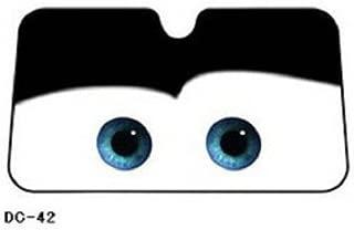 black eyes Disney Pixar Car or Mcqueen Auto long Window Sun Shades Screen block eyes gift