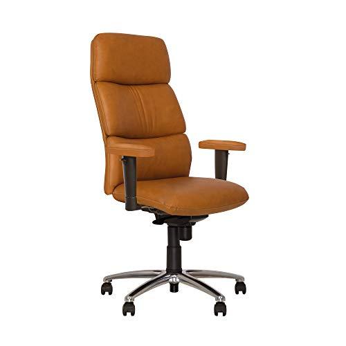 california- Poltrona di direzione sincrono ergonomico sedia da ufficio basculante schienale reclinabile siége girevole. Schienale e seduta fixables in 5 posizioni, schienale al Meccanismo antiurto.