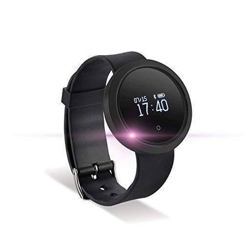 Forever Fitness Tracker Sport Armband Uhr Bluetooth Smart Watch Aktivitätstracker Wasserdicht Schrittzähler Pulsmesser Schwarz für Anrdoid iPhone Samsung Sony Huawei LG HTC
