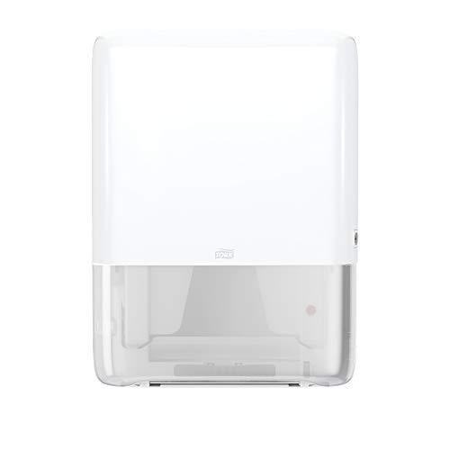 Tork PeakServe 552550 - Mini dispensador para toallas de papel Endlos, color blanco H5, alta capacidad, diseño Elevation
