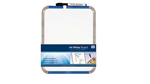 WhiteboardDry Veeg met Pen EraserA3/A4-formaat – Gemaakt met sterk golfkarton - Glad oppervlak en gemakkelijk te gebruiken - Perfect voor kantoor, thuis, school en kinderen gebruik a3