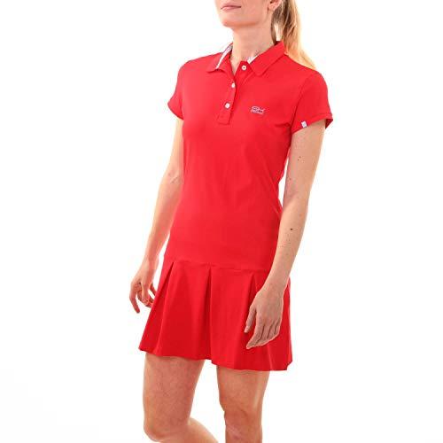 SPORTKIND Robe Polo pour Tennis/Hockey/Golf pour Filles...