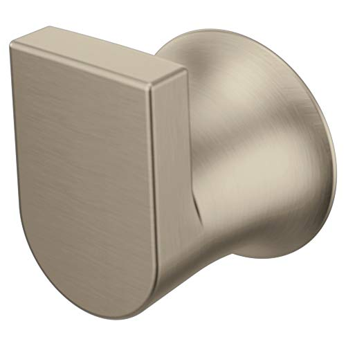 Moen BH3803BN Genta Modern Single Robe Hook, Brushed Nickel