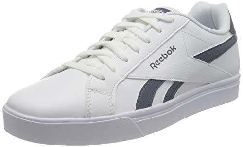 Reebok Royal COMPLETE3LOW, Scarpe da Tennis Unisex-Adulto, Bianco/Smoind/Bianco, 39 EU
