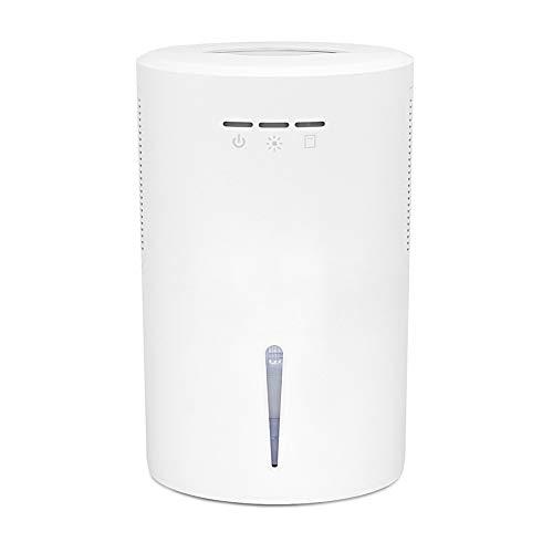 SYLL 1000ml / 24h Mini Luftentfeuchter für zu Hause 48W Luftentfeuchter Kleiderschrank Lufttrockner Wäschetrockner Feuchtigkeitsabsorber 2000ml Wassertank