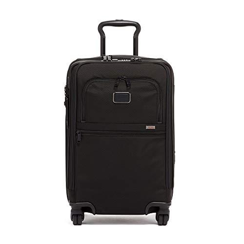 [トゥミ] スーツケース ソフト 公式 正規品 TUMI Alpha 3 インターナショナル・オフィス・4ウィール・キャリーオン 機内持ち込み可 保証付 34L 56 cm 5.1kg Black