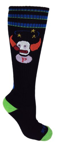 MOXY Socks Knee-High Pukie the Clown Ultimate Fitness Socks