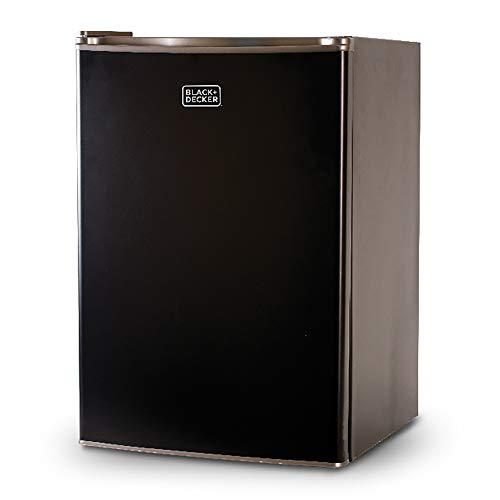 BLACK+DECKER BCRK25B Compact Refrigerator Energy Star Single...