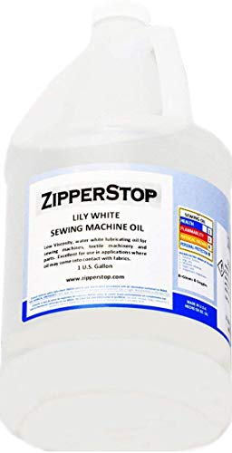 Sewing Machine Oil ~ Lily White ~ 1 U.S. Gallon