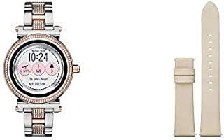 6634bc2923b4 Amazon.com  Michael Kors - Smartwatches   Watches  Clothing