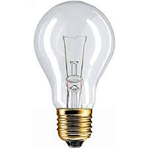 PHILIPS 6024 LAMPADINA INCANDESCENZA 60W 24V E27 2700°K 970 LUMEN 107X60MM CONFEZIONE 4 LAMPADINE