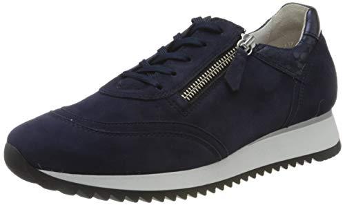 Gabor Shoes Damen Comfort Basic 46.335 Sneaker, Blau (Bluette/Pazifik 36), 38 EU