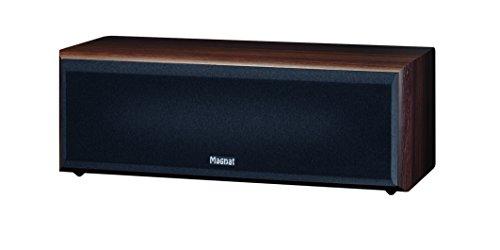 Magnat Monitor Supreme Center 252 - Altavoz con blindaje de madera, 420 x 145 x 195 mm, marrón
