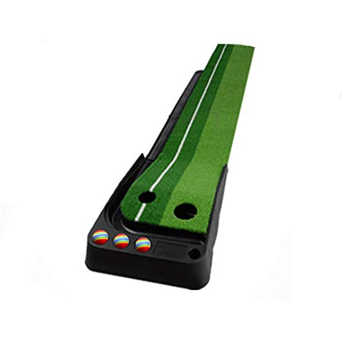 Best Review Of Durable Indoor Plastic Golf Sports Training Practice Putting Green Mat with Artificia...