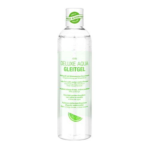 Deluxe Aqua Gleitgel von EIS, wasserbasierte Langzeitwirkung, Wassermelone, 300 ml