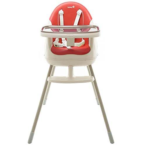 Cadeira de Refeição Jelly Safety 1st, Vermelho