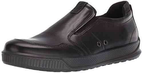 Ecco Herren Byway Slip On Sneaker, Schwarz (Black 1001), 42 EU