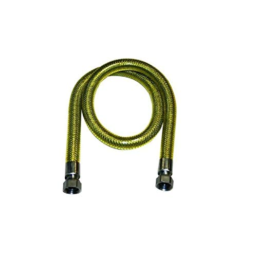 TUBO GAS INOX UNI EN 14800 F/F CM. 200