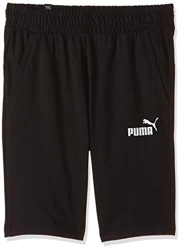 PUMA Jersey Short Shorts Men Black - S - Shorts/Bermudas Shorts