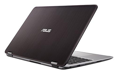 ASUS VivoBook Flip TP501UA-CJ132T 2.50GHz i5-7200U 15.6' 1366 x 768Pixel Touch screen Marrone, Argento Ibrido (2 in 1)