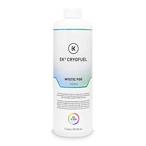 EKWB EK-CryoFuel Mystic Fog (Premix 1000mL) Kühlmittel, weiß/transparent