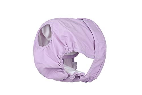BePetMia Waschbare Windeln für Hunde, Hygiene-Unterhose für Hunde in Hitze, 5 Größen XS bis XL, geeignet für alle Hunde (S: 30-45cm, Lila)