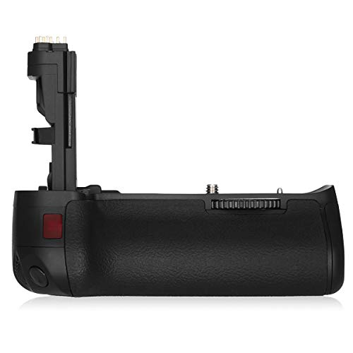 Powerextra BG-E9 Vertical Battery Grip + AA-Size Battery Holder Replacement for Canon EOS 60D/60Da Digital SLR Camera Work with LP-E6/LP-E6N Battery or 6 AA-Size Battery