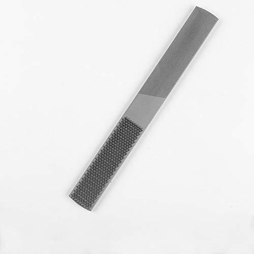 4-in-1 Halbrunde flache Raspel, Karbonstahl, Handfeile, Nadelfeilen für Holz, 4 Arten von Körnungsoberflächen.