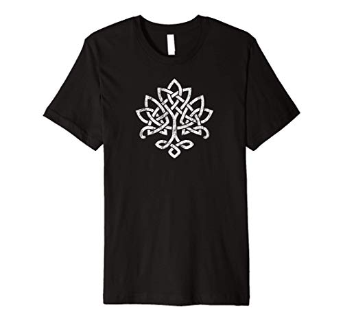 Celtic Knot Tree of Life Tshirt Irish