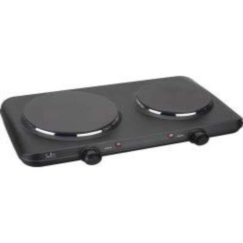 Jata CE220 Cuisinière électrique avec 2 plaques de cuisson Noir 2 250 W