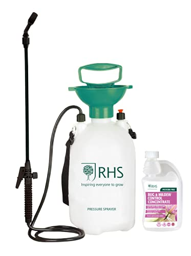 RHS - Bug & Mildew Control - Concentrate 500ml - Pesticide free - with 5L...